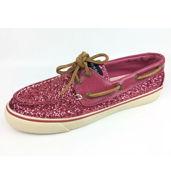 Sperry Top Sider Bahama 2 Eye Glitter Boat Shoes